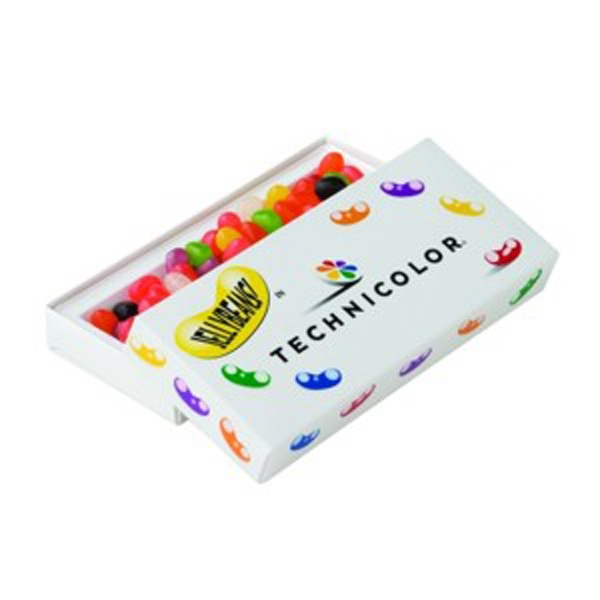 Assorted Jelly Beans In A Candy Box With Tray Photo