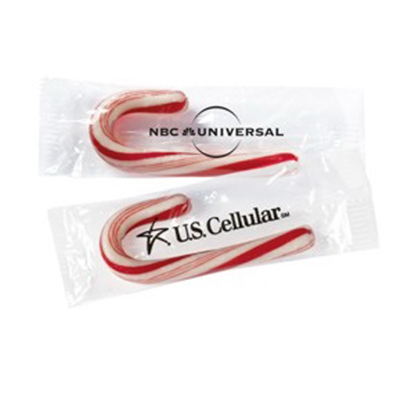 Mini Candy Cane With Label Photo