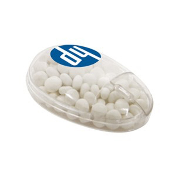 White Mints In A Computer Mouse Shaped Container Photo
