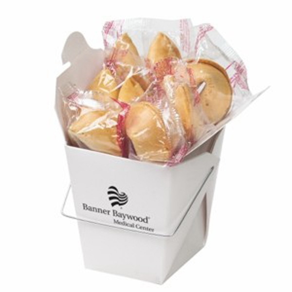 Fortune Cookies in Carry Out Container