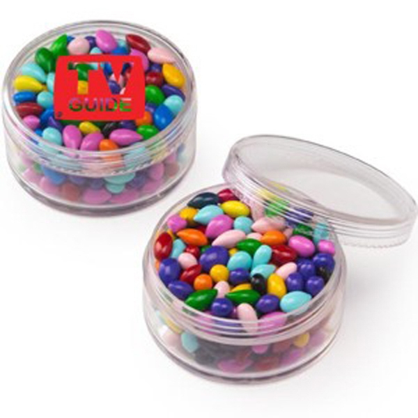 Round Container / Chocolate Covered Sunflower Seeds