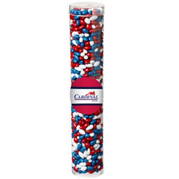 Large Tube with Clear Cap/Chocolate Covered Sunflower Seeds