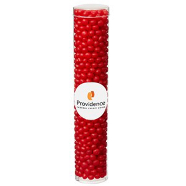 Large Tube with Clear Cap / Red Hots®