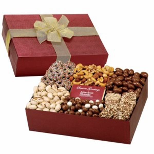 6 Way Deluxe Gift Box/Chocolate Bar-Express Treats Selection
