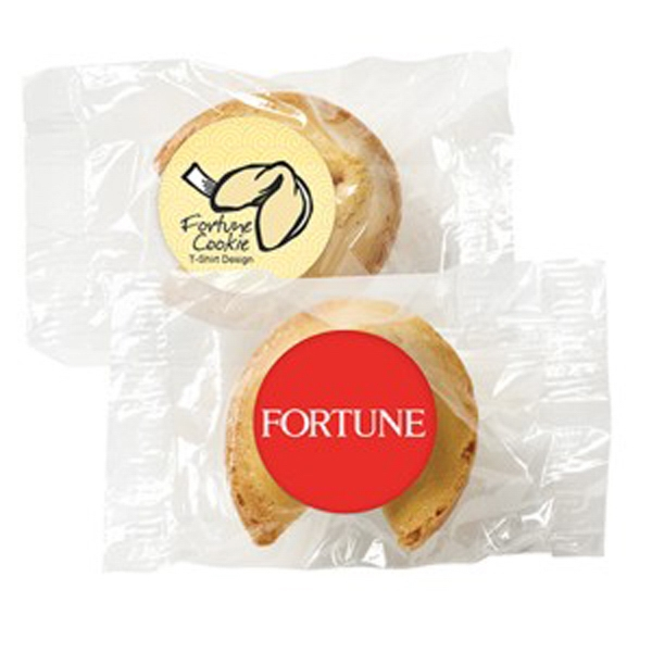 Fortune Cookie With Custom Fortune And Label Photo