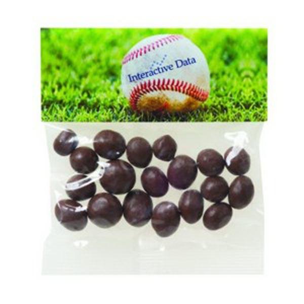 2 oz Chocolate Peanuts / Header Bag
