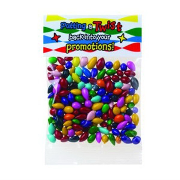 Gemmies (r) - 1 Oz Chocolate Covered Sunflower Seeds In A Header Bag Photo