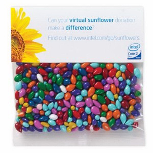 2 oz Chocolate Covered Sunflower Seeds - Gemmies