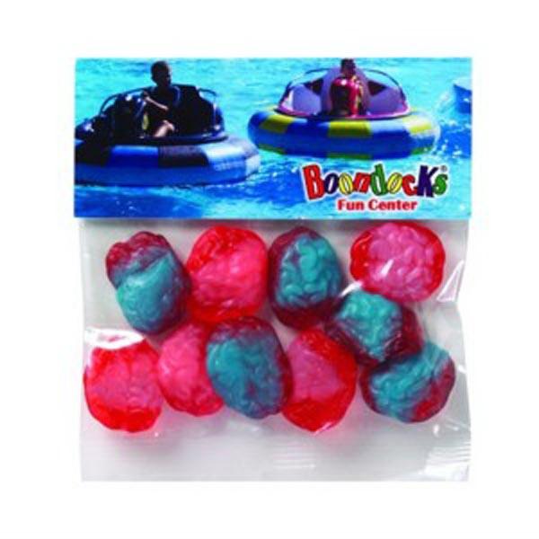 2 oz Gummy Brains / Header Bag
