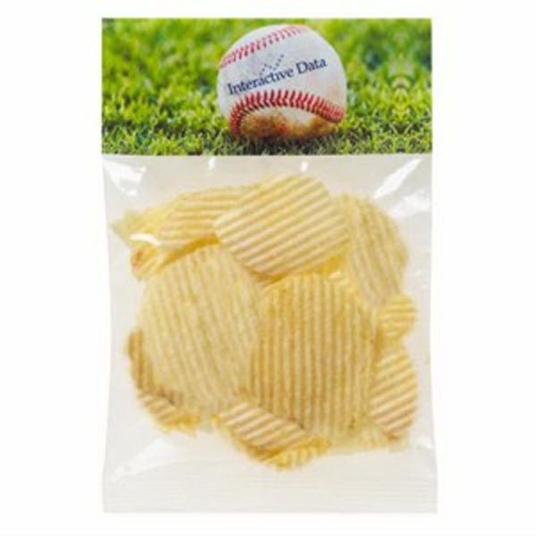 1 Oz Potato Chips In A Header Bag Photo