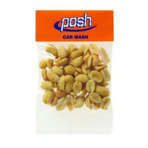 1 oz Dry Roasted Peanuts / Header Bag