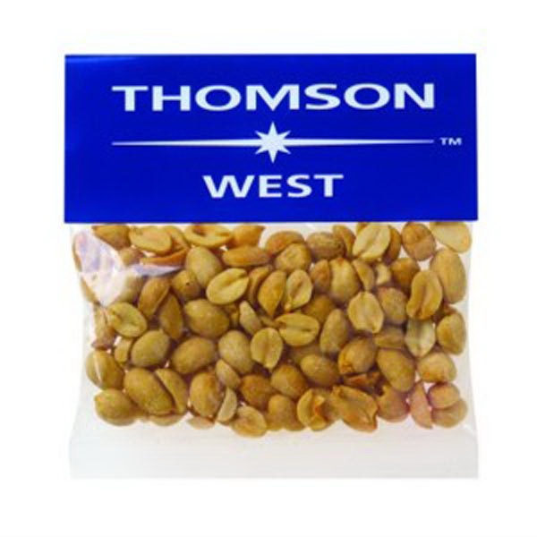 2 oz Dry Roasted Peanuts / Header Bag