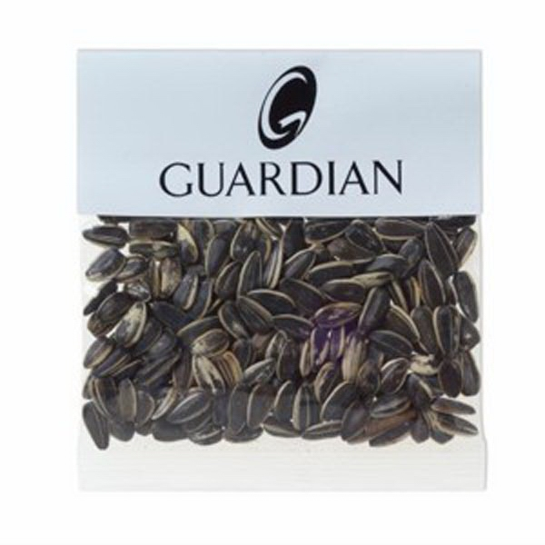 1 Oz Sunflower Seeds In The Shell In A Header Bag Photo