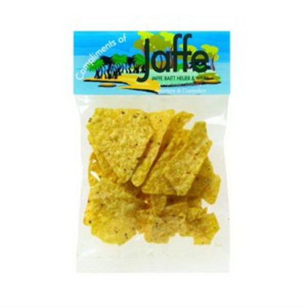 1 Oz Taco Chips In A Header Bag Photo