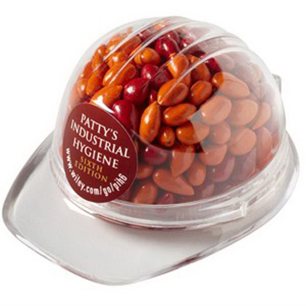 Hard hat Container / Chocolate Covered Sunflower Seeds