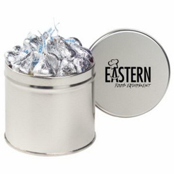 Half Quart Round Tin / Hershey's Kisses®