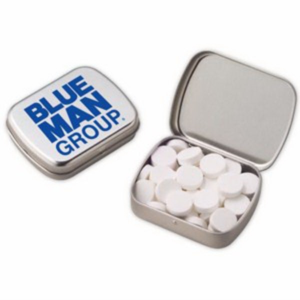 Small Hinged Tin with Powermints