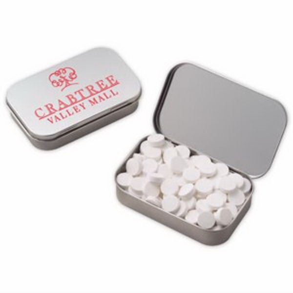Large Hinged Tin with Powermints