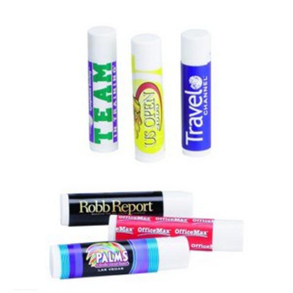 "Lip Balm Stick. Item Size: .6"" Diameter X 2.7"" L Photo"