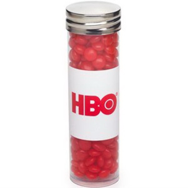 Large Tube with Silver Cap / Red Hots®