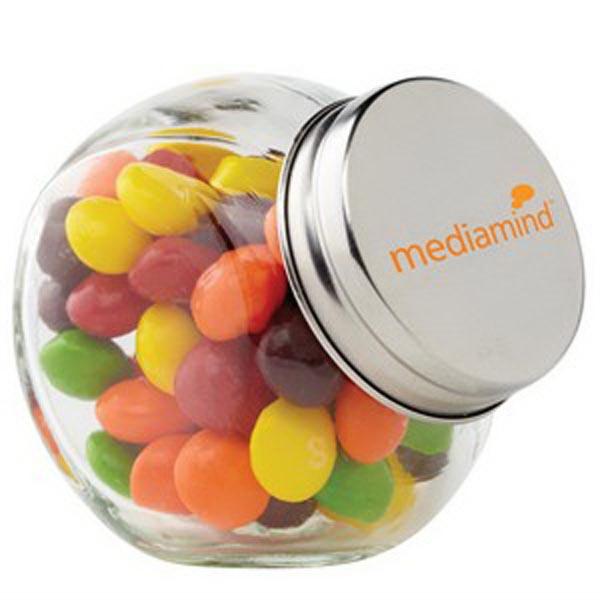 Glass Canister Jar / Skittles®