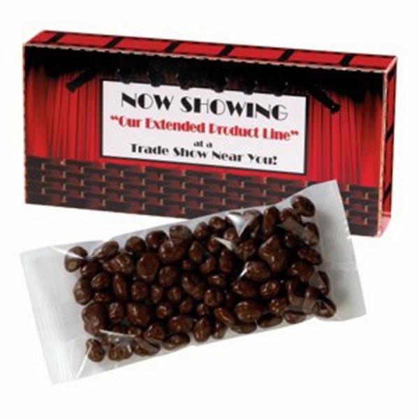 Movie Theatre Box / Chocolate Peanuts