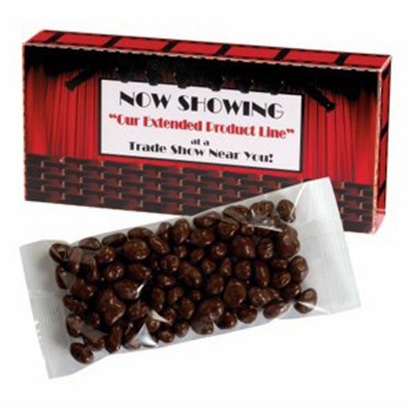 Movie Theatre Box / Chocolate Raisins