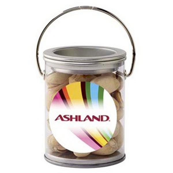 Paint Cans / Pistachio Nuts