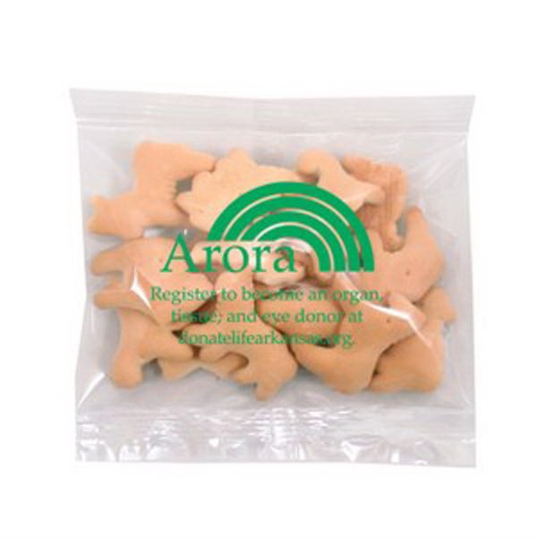 Promo Snax - 1 Oz - Animal Cookies In Cello Bag Photo