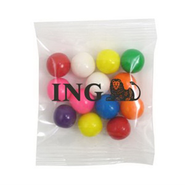 Promo Snax - 1 Oz - Gumballs In A Cello Bag Photo