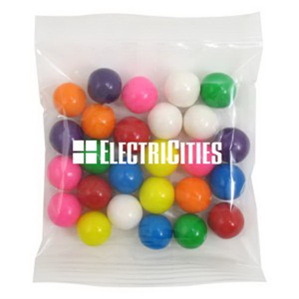 Promo Snax - 2 Oz - Gumballs In A Cello Bag Photo
