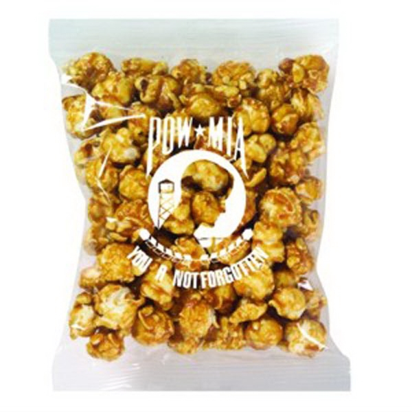 Promo Snax - Caramel Popcorn In A Cello Bag Photo