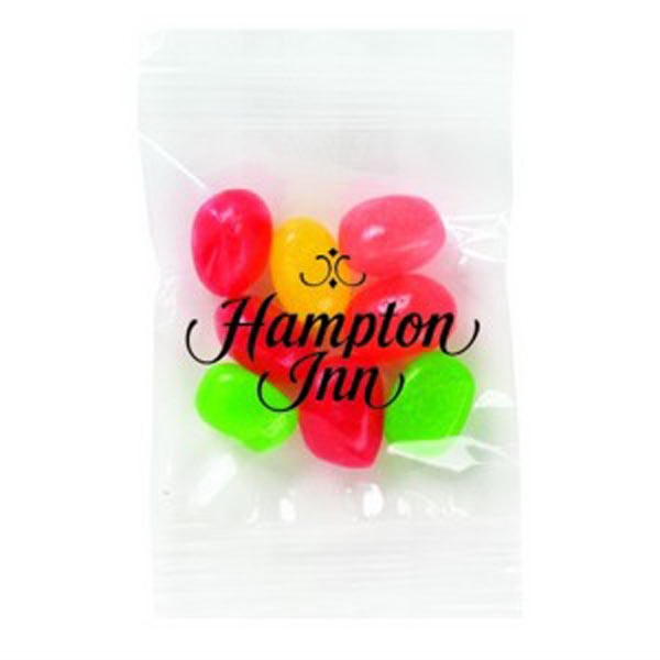 Promo Snax - 1/2 Oz - Assorted Jelly Beans In Cello Bag Photo