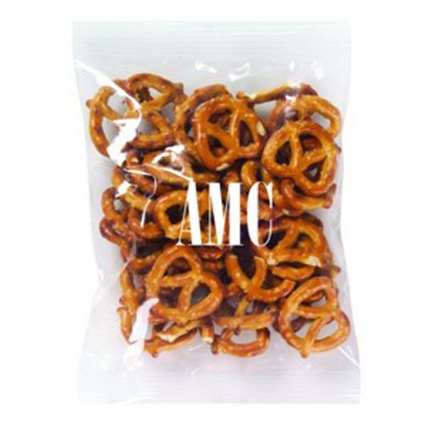 Promo Snax - 2 Oz - Mini Pretzels In Cello Bag Photo