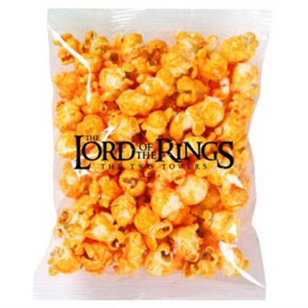 Promo Snax - Cheese Popcorn In A Cello Bag Photo
