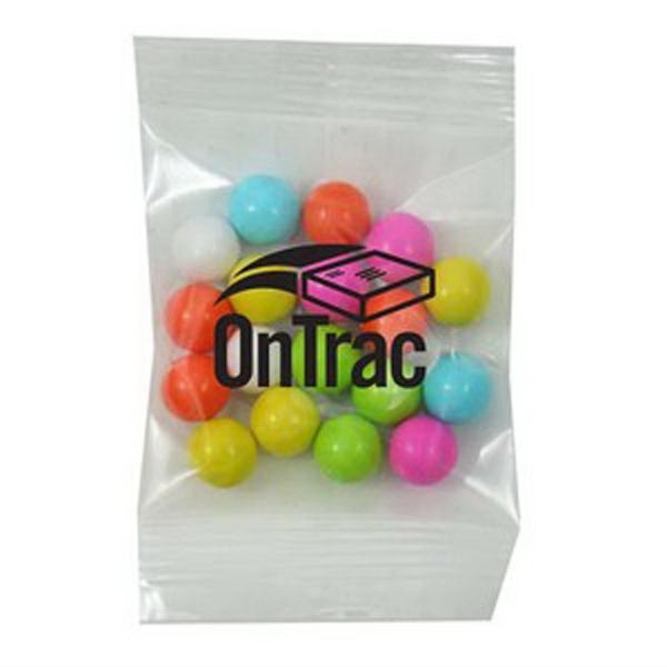 Promo Snax Sixlets (r) - 1/2 Oz - Candy Covered Chocolatey Beads In A Cello Bag Photo