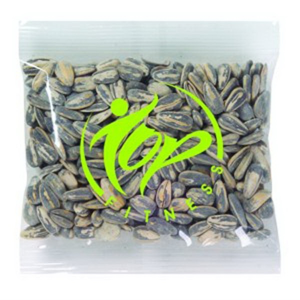 Promo Snax - 2 Oz - Sunflower Seeds In A Shell In A Cello Bag Photo