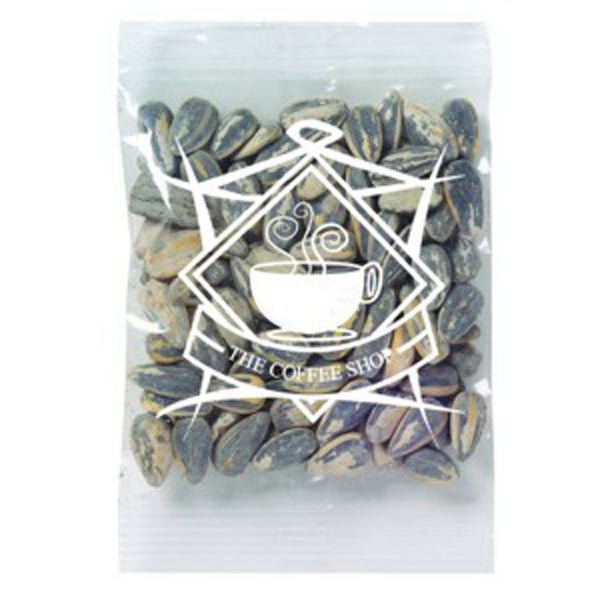 Promo Snax - 1/2 Oz - Sunflower Seeds In A Shell In A Cello Bag Photo