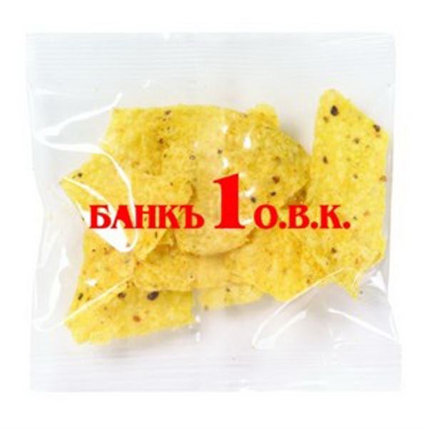 Promo Snax - 1/2 Oz - Taco Chips In Cello Bag Photo