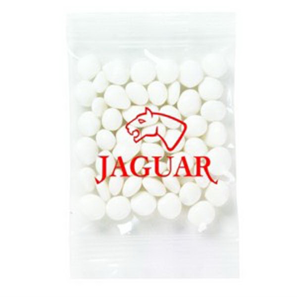 Promo Snax - 1/2 Oz - White Mints In Cello Bag Photo