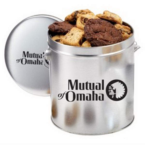1 Gallon Gourmet Cookie Tin