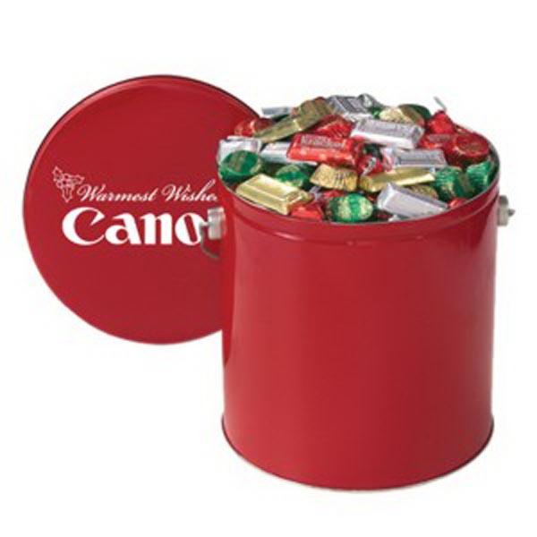 Hershey's® Holiday Mix / Gallon Tin