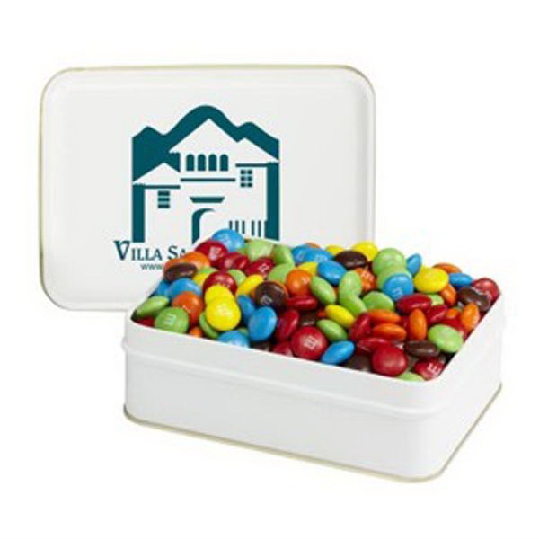 Small Rectangular Tin / Candy Coated Chocolates