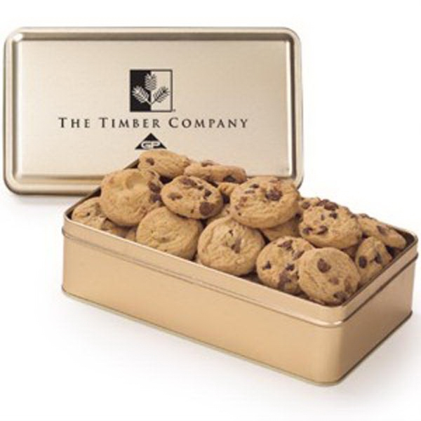 Large Rectangle Tin / Mini Cookies
