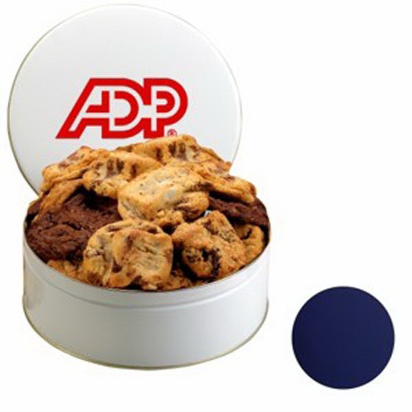 Snack Tin with Gourmet Cookies