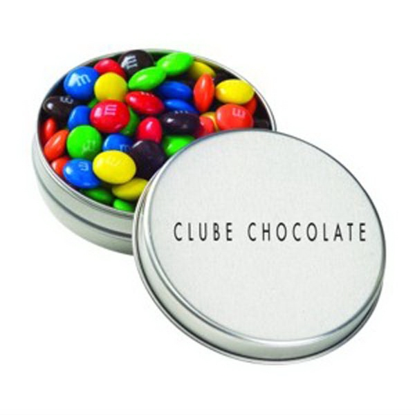Medium Round Tin / Candy Coated Chocolate