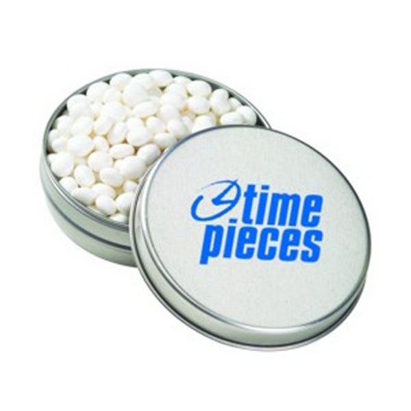 Medium Round Tin / White Mints