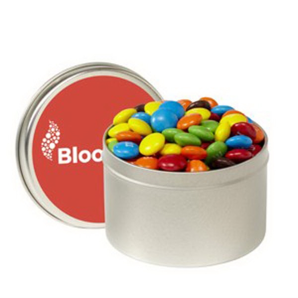 1/4 Quart Round Tin / Chocolate Covered Candies
