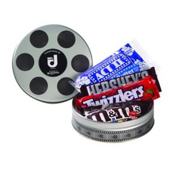 Small Film Reel Tin / Movie Pack