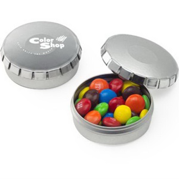 Push Top Tin With Assorted Chocolate